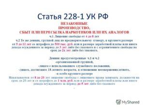 Поправки по статье 228 часть 2 на 2020 год российская газета