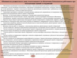 Должностная инструкция начальника отдела эксплуатации зданий и сооружений