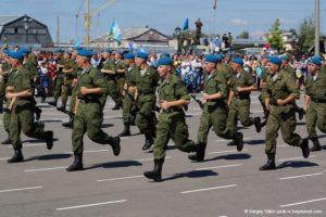 Юные кинешемцы посетили 217-ый полк ВДВ | 200x300