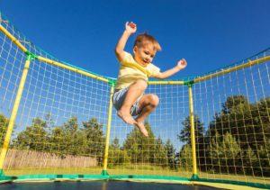 Польза прыжков на батуте для детей