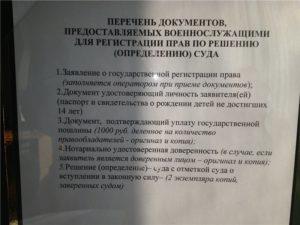 Пречень документов для очереди на служебное жилье мчс