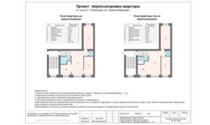 Узаконить перепланировку квартиры в видном