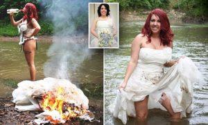 Можно ли сжечь свадебное платье после развода народные приметы