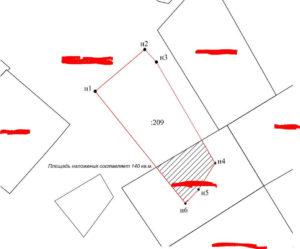 Наложение земельного участка на другой участок судебная практика