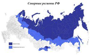 Красноярск город местность приравненная к районам крайнего севера перечень