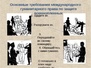 Международно правовой статус и защита военнопленных