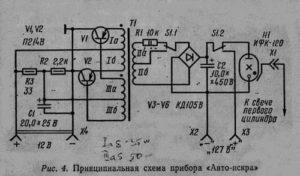 Схема стробоскопа стб 04 01 луч к