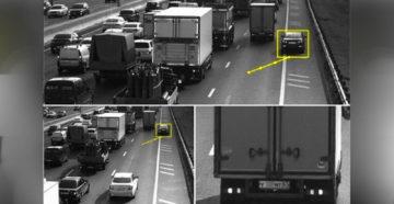 Может ли камера гибдд зафиксировать нарушение пересечение двойной сплошной