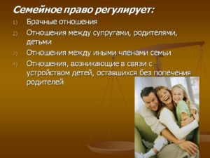 Прекращение родственных отношений между родителями и детьми
