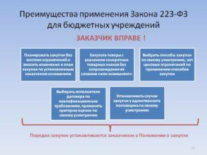 Какие организации работают по фз 223