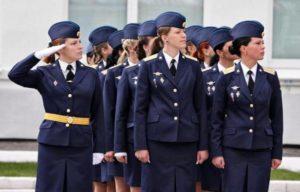 Военное училище для девушек москва бюджетные после 9 класса