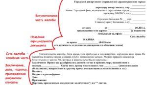 Как подать жалобу на детскую поликлинику в москве